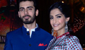 Sonam Kapoor And Fawad Khan On The Sets Of Entertainment Ke Liye