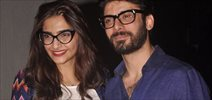 Sonam And Fawad Snapped At PVR