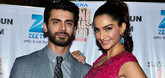 Sonam & Fawad promote Khoobsurat on the sets of Cine stars ki Khoj
