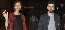 Sonam & Fawad Snapped At Airport