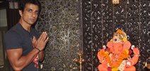 Sonu Sood Celebrates Ganesha Festival