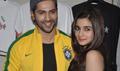 Alia & Varun promote 'Humpty Sharma Ki Dulhania' at Hard Rock Cafe