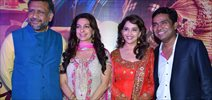 Madhuri Dixit And Juhi Chawla At The Special Screening of Gulaab Gang