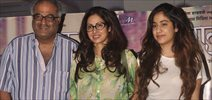 Sridevi Snapped In New Look At Tapal Screening