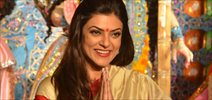 Sushmita Sen attends Durga Pooja