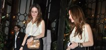 Sussanne snapped at Bandra