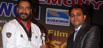 Taekwondo Masters From Korea Felicitate Ajay Devgan