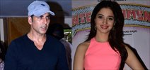 Akshay And Tamannah Snapped Promoting 'Its Entertainment'