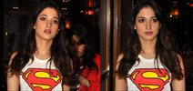 Tamannah Snapped Promoting 'Its Entertainment'