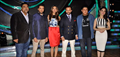 Team of 'Humshakals' on the sets of DID Little Masters
