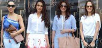 Gauri, Sonali, Twinkle, Lisa At Susanne Khan's The Charcoal Project New Collection Launch