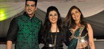 Zayed Khan, Lisa Ray Walk For Wellingkar's Tribute Fashion Show