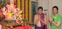 Tushar And Jeetendra Celebrates Ganesha Festival