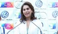 Upasana at Volkswagen Polo R Cup Event