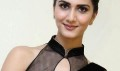Vaani Kapoor in Black Saree