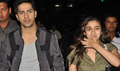 Varun And Alia Back From Indore