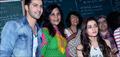 Varun And Alia Promote HSKD At HR College