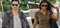 Varun And Alia Snapped On Their Way To Indore For HSKD Promotions