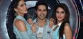Varun, Nargis, Ileana & Big B at Boogie Woogie's grand finale