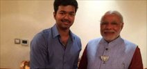 Vijay Meet Narendra Modi Photos