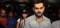 Virat Kohli & Anushka Sharma snapped at Domestic airport