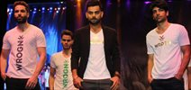 Virat Kohli Launches His Own Fashion Label