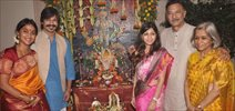 Vivek Oberoi & Family At Ganpati Visarjan