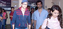 Hrithik Roshan And Kunal Kapoor Snapped At The PVR