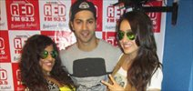Varun Dhawan and Shraddha Kapoor promote ABCD- 2 at 93.5 Red FM
