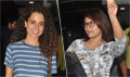 Sonakshi, Kangna and others at 'ABCD - 2' screening at Sunny Super Sound