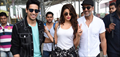 Akshay Kumar, Sidharth Malhotra And Jacqueline Fernandez Snapped At Delhi Airport