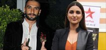 Parineeti And Ranveer On The Sets Of Aaj Ki Raat Hai Zindagi