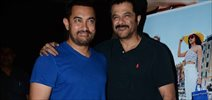Aamir Khan Drops In To Meet The Cast At Dil Dhadakne Do Screening