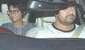 Aamir Khan With Family Snapped At Bombay Velvet Screening?
