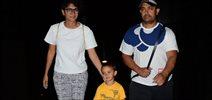Aamir, Kiran & Azad Return From The USA