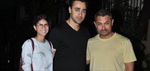 Aamir, Imran & Kiran Rao Snapped At Nikhil Advani's House
