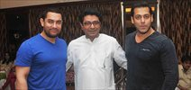 "Aamir, Salman, Farhan, Ritesh & Raj Thackeray meet to discuss ""A Better Mumbai"""
