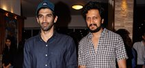 Aditya & Ritesh at Ashley Lobo's Amara Premiere