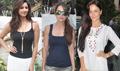 Amrita, Eli & Daisy Snapped At Alvira Khan's Ahakzai Fashion Preview