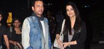Aishwarya And Irfan Land Back In Mumbai Post Delhi Jazbaa Promotions