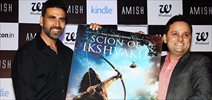 Akshay Kumar unveils Amish  Tripathi's Scion of Ikshkavu