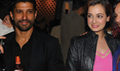 Farhan And Dia At 'Cointreauversial' Evening With Alfred Cointreau In Mumbai