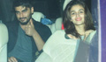 Alia Bhatt And Arjun Kapooor Snapped At Domestic Terminal