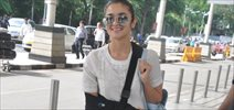 Alia Bhatt Snapped Enroute To Coimbatore For Kapoor & Sons