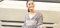 Alia Bhatt Snapped Post Ad Shoot In Bandra