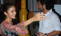 Alia Bhatt Snapped At Copa With Director Vikas Bahl