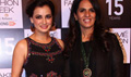 Dia Mirza And Others At Anita Dongre Show At LFW 2015