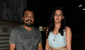 Anurag Kashyap and Deeksha Seth snapped at Bombay Velvet Screening