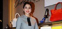 Anushka Sharma promotes NH10 at Charles & Keith store