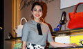Anushka Sharma promotes NH10 at Charles & Keith store
